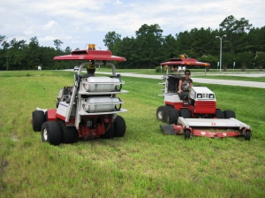 NCDAQ_Clean Diesels at Work or Clean Fuels_Around and around we Mow
