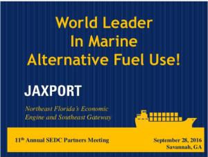 Marine Alternative Fuel Use