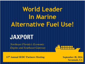 Marine Alternative Fuel Use