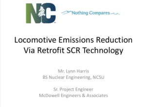 Locomotive Emissions Reduction