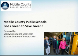 Mobile County Public Schools Goes Green