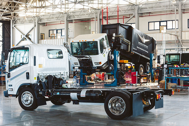 Wrightspeed electric trucks